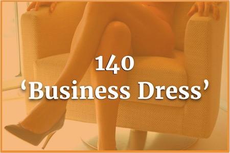 140 Business Dress